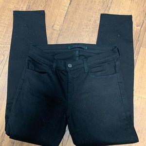 J brand super skinny black jeans. Size 27